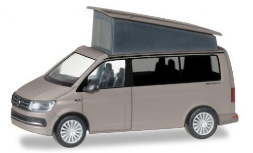 Volkswagen T6 1/87 Herpa California grey toit de camping ouvert et fermé darstellbar diecast model cars