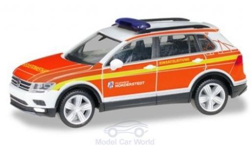 Volkswagen Tiguan 1/87 Herpa Freiwillige Feuerwehr Norderstedt Kommandofahrzeug miniature