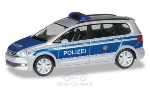 Volkswagen Touran 1/87 Herpa Polizei Berlin diecast model cars