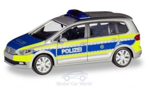 Volkswagen Touran 1/87 Herpa Polizei Nordrhein-Westfalen diecast model cars