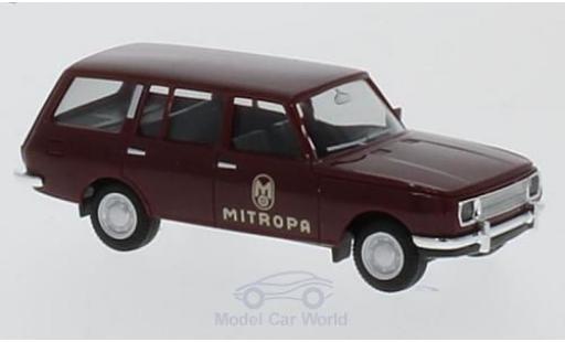 Wartburg 353 1/87 Herpa Tourist Mitropa 1966 miniature