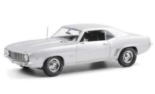 Chevrolet Camaro 1/18 Highway 61 ZL1 grey 1969 diecast model cars