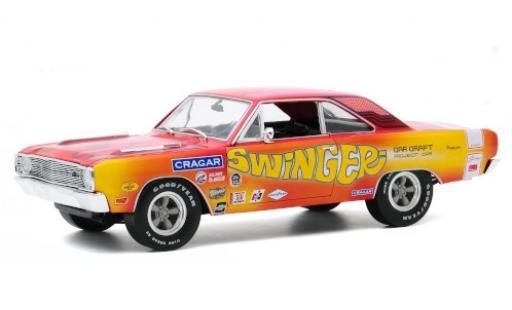 Dodge Dart 1/18 Highway 61 340 Swinger Custom 1969 diecast model cars
