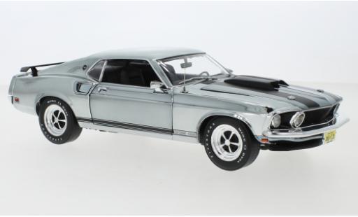 Ford Mustang 1/18 Highway 61 Boss 429 chrom/matt-noire 1969 John Wick (2014) miniature