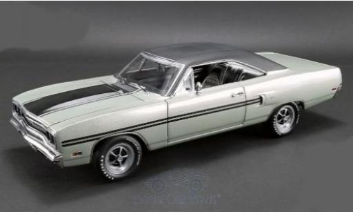 Plymouth GTX 1/18 Highway 61 grise/matt-noire 1970 miniature