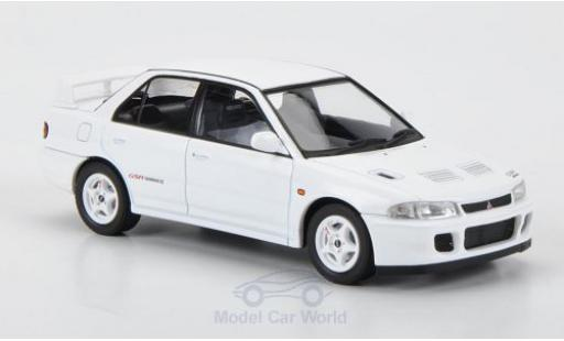 Mitsubishi Lancer Evolution II 1/43 HPI MIrage GSR blanche RHD 1994 Evolution II miniature