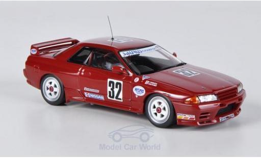 Nissan Skyline 1/43 HPI MIrage GT-R (R32) No.32 Saurus Champ / Nismo JTCC 1991 diecast model cars