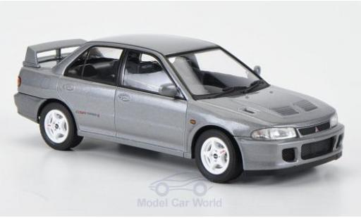 Mitsubishi Lancer Evolution II 1/43 HPI GSR Evolution II metallic-grise RHD 1994 miniature