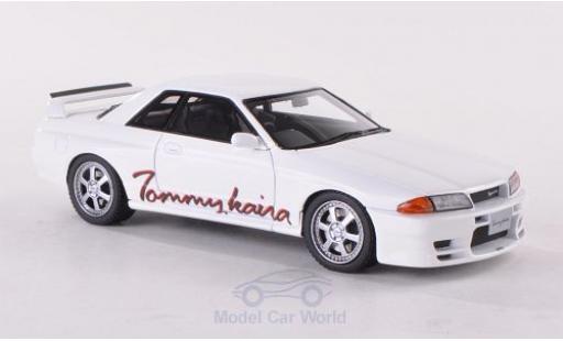 Nissan Skyline 1/43 HPI Tommykaira R (R32) blanche RHD miniature