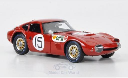 Toyota 2000 GT 1/43 HPI No.15 GP Japan 1966 miniature