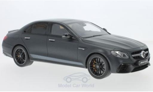 Mercedes Classe E 1/18 GT Spirit AMG E63 S Edition 1 grise 2018 miniature