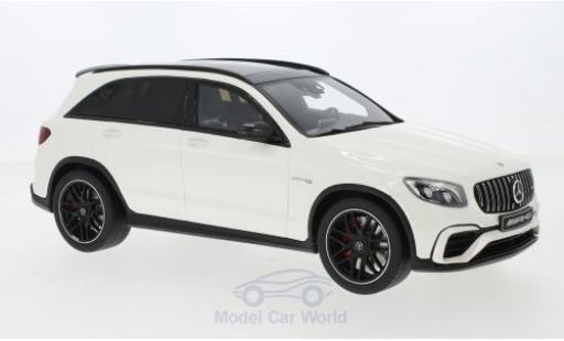 Mercedes Classe C 1/18 GT Spirit AMG GLC 63 white 2019 diecast model cars
