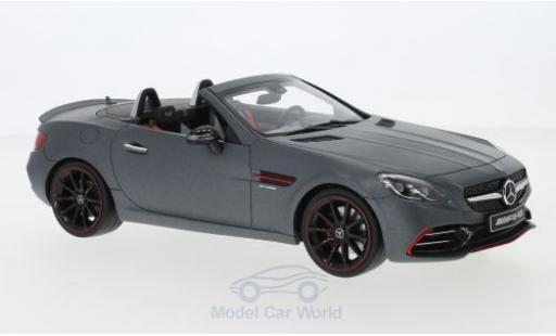 Mercedes Classe C 1/18 GT Spirit AMG SLC 43 matt-grey 2019 diecast model cars