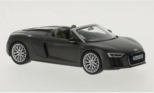 Audi R8 1/43 I Herpa Spyder V10 matt-brown diecast model cars