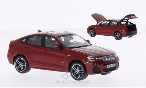 Bmw X4 1/43 Herpa metallise rouge 2015 miniature