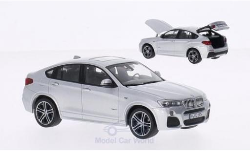 Bmw X4 1/43 Herpa grey 2015 diecast model cars
