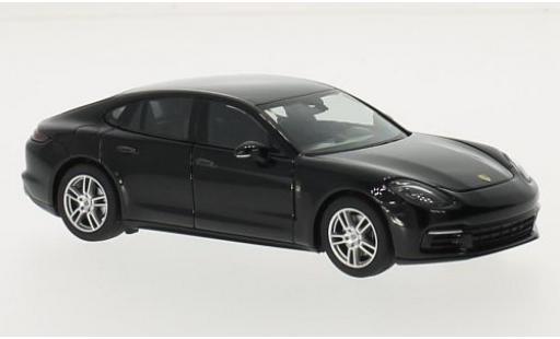 Porsche Panamera 1/43 I Herpa 4 noire 2016 miniature