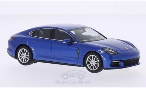 Porsche Panamera 4S 1/43 Herpa metallise blue 2016 diecast model cars