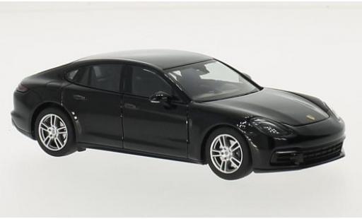 Porsche Panamera 1/43 I Herpa noire 2016 miniature