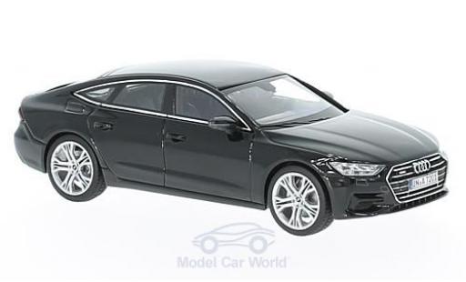 Audi A7 1/43 iScale Sportback noire 2018 miniature