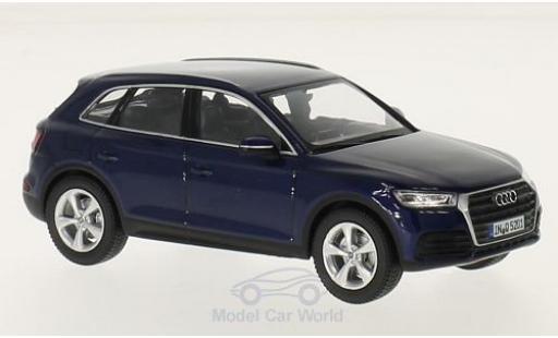 Audi Q5 1/43 iScale bleue 2016 miniature