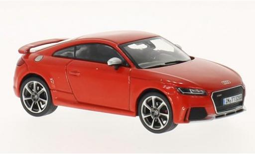 Audi TT 1/43 I iScale RS rouge 2017 miniature