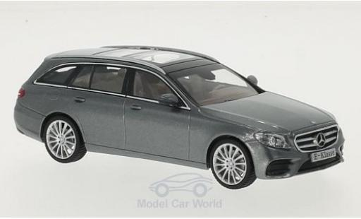 Mercedes Classe E 1/43 I iScale T-Modell (S213) métallisé grise miniature