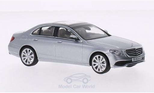 Mercedes Classe E 1/43 iScale (W213) Exclusive grey 2016 diecast model cars
