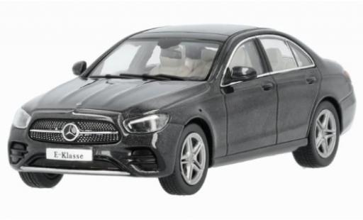 Mercedes Classe E 1/43 I iScale (W213) MOPF metallise grise 2020 miniature