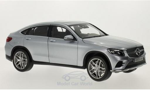 Mercedes Classe GLC 1/18 iScale GLC Coupe (C253) grey diecast model cars