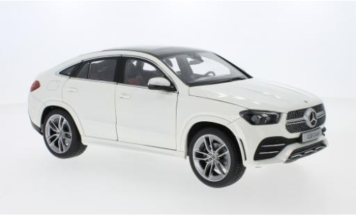 Mercedes Classe GLE 1/18 I iScale GLE Coupe (C167) mettalic weiss modellautos