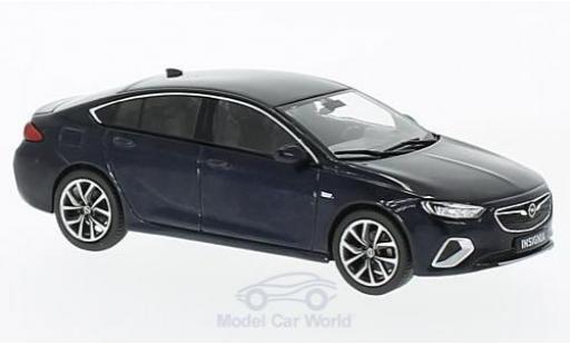 Opel Insignia 1/43 iScale B Grand Sport metallic-dunkelbleue 2017 miniature