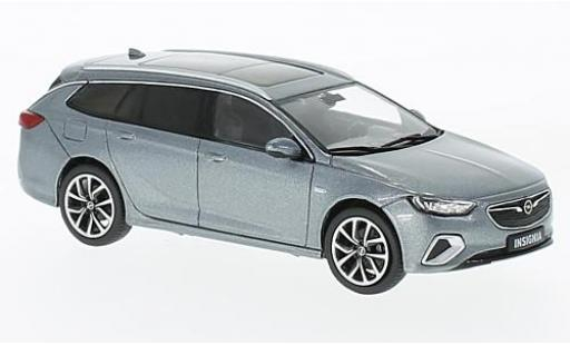 Opel Insignia 1/43 I iScale B Sports Tourer metallise grau 2017 modellautos