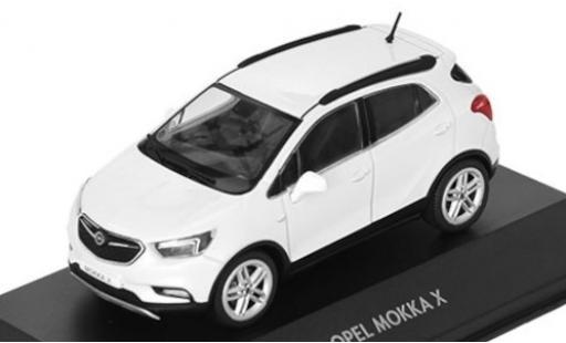 Opel Mokka 1/43 I iScale X Turbo metallise weiss