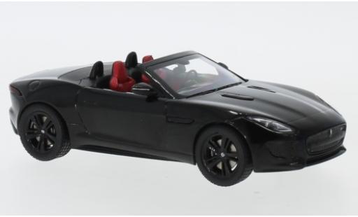 Jaguar F-Type 1/43 I IXO V8 S metallise noire miniature