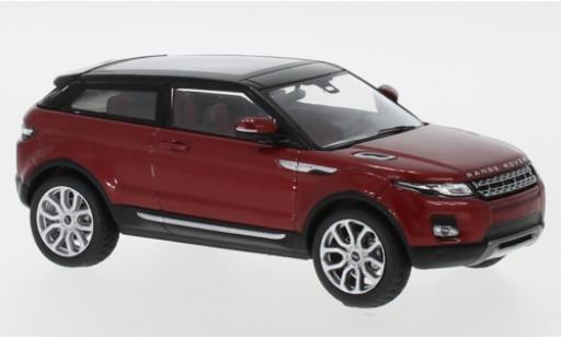 Land Rover Range Rover 1/43 I IXO Evoque metallise rouge/noire 2011 3-portes miniature
