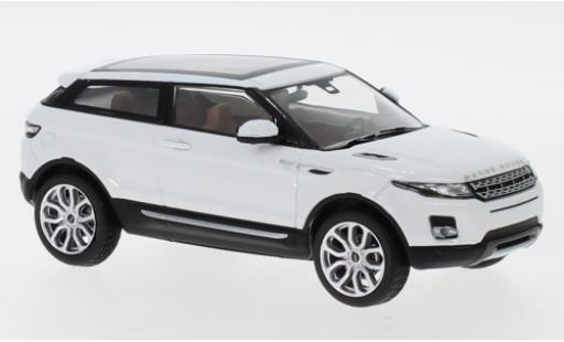 Land Rover Range Rover 1/43 I IXO Evoque blanche 2011 3-portes miniature