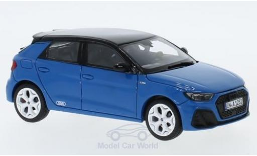 Audi A1 1/43 Jadi Sportback Edition One bleue/noire 2018 miniature