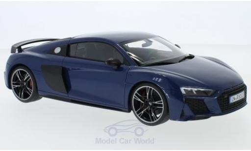 Audi R8 1/18 Jadi metallise blue 2019 diecast model cars