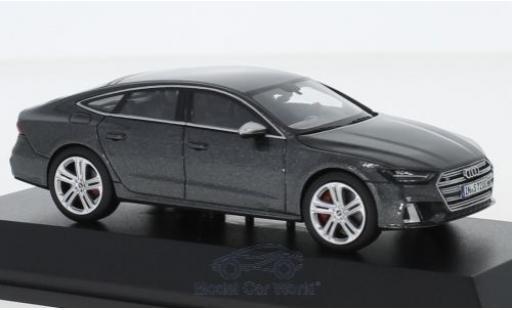 Audi S7 1/43 I Jadi Sportback métallisé grise 2019 miniature