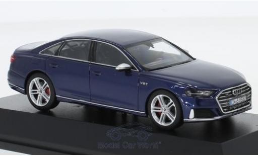Audi S8 1/43 I Jadi métallisé bleue 2019 miniature
