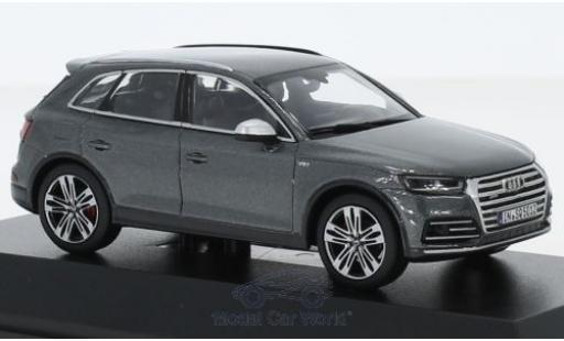 Audi SQ5 1/43 I Jadi TFSI métallisé grise 2018 miniature