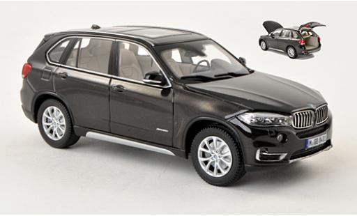 Bmw X5 1/43 I Kyosho (F15) metallise marron 2013 miniature