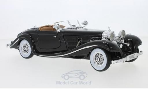 Mercedes 500 1/18 Maisto K Spezial-Roadster (W29) marron 1934 miniature