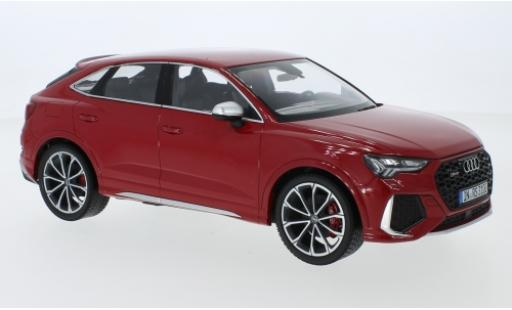 Audi RS Q3 1/18 I Minichamps Sportback (F3) metallise red 2020 diecast model cars