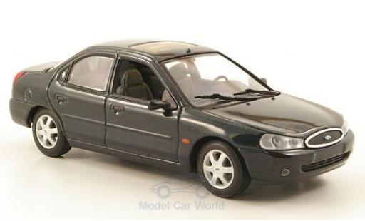 Ford Mondeo 1997 1/43 Minichamps MKII metallise verte Stufenheck miniature