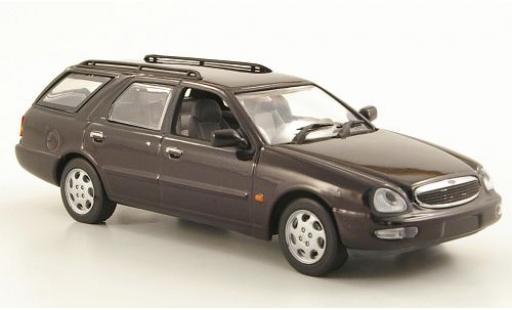 Ford Scorpio 1/43 I Minichamps Turnier metallise violette 1995 miniature