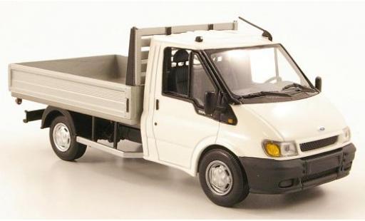 Ford Transit 1/43 I Minichamps Pritsche blanche 2000 sans Vitrine miniature