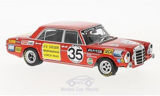 Mercedes 300 SEL 1/43 Minichamps 6.8 AMG No.35 Briefmarken Sieger 24h Spa 1971 H.Heyer/C.Schickentanz miniature
