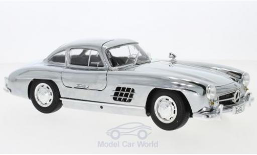 Mercedes 300 1/18 I Minichamps SL Coupe (W198) chrom 1954 miniature